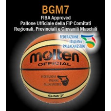 Pallone basket Molten B7G3800 (ex GM7X), size 7.  FIBA APPROVED - Ufficiale FIP