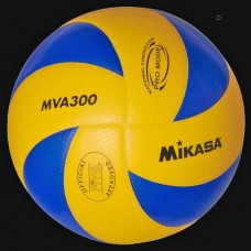 Pallone volley Mikasa MVA300 costruito in Super Soft PU MicFiber. GARA FIVB