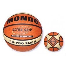 Pallone basket Mondo SB-PRO 6 sintetico ultra grip. Official Weight and Size